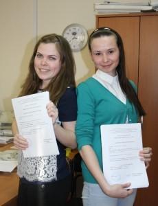 Анна Молчанова и Елена Уляшева.