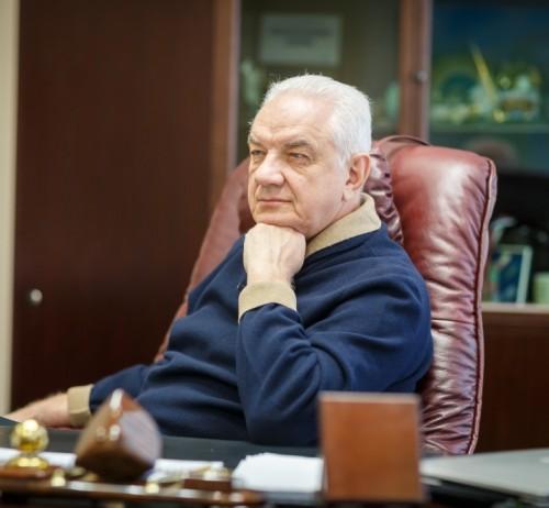 Ректор УГТУ Николай Цхадая.