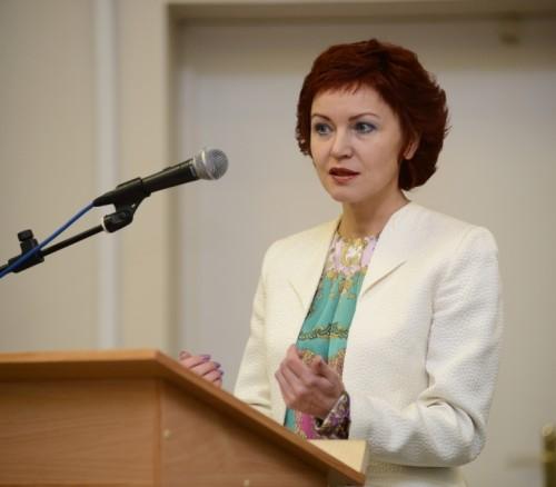 Председатель Избиркома РК Елена Шабаршина.