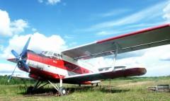 4 самолета Ан-2 для доставки пожарных и грузов к местам пожаров