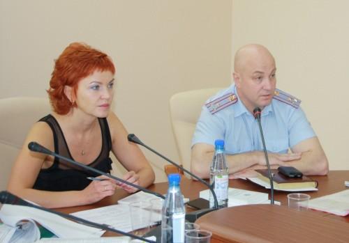 Елена Шабаршина и Александр Спиридонов.