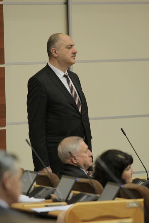 Григорий Саришвили избавился от приставки и.о. на посту представителя Республики Коми при Президенте РФ. Фото Дмитрия НАПАЛКОВА