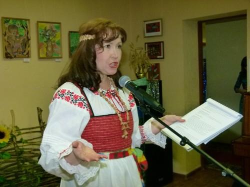 Вела вечер Ольга Степанова.