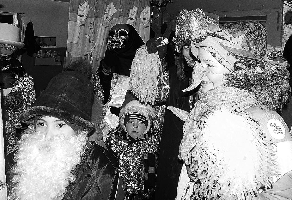 Празднование Святок в 2016 году. Фото Ольги Худяевой.