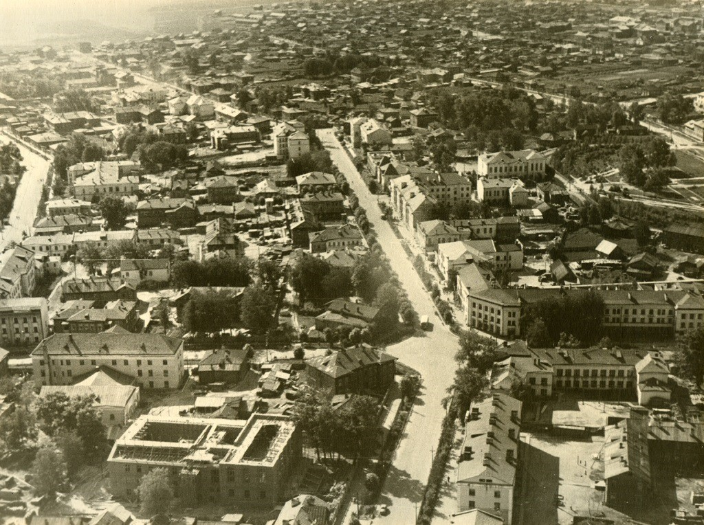 Улица Советская, середина ХХ века.
