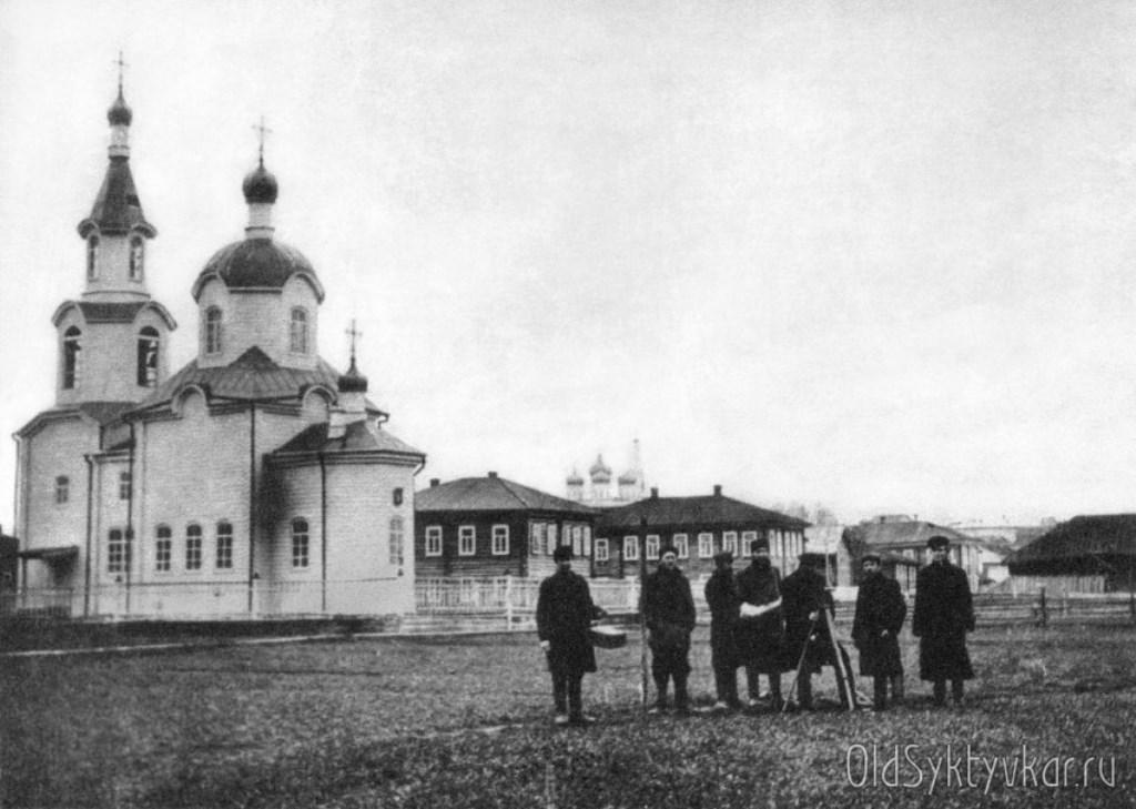 Богородицкая тюремная церковь.