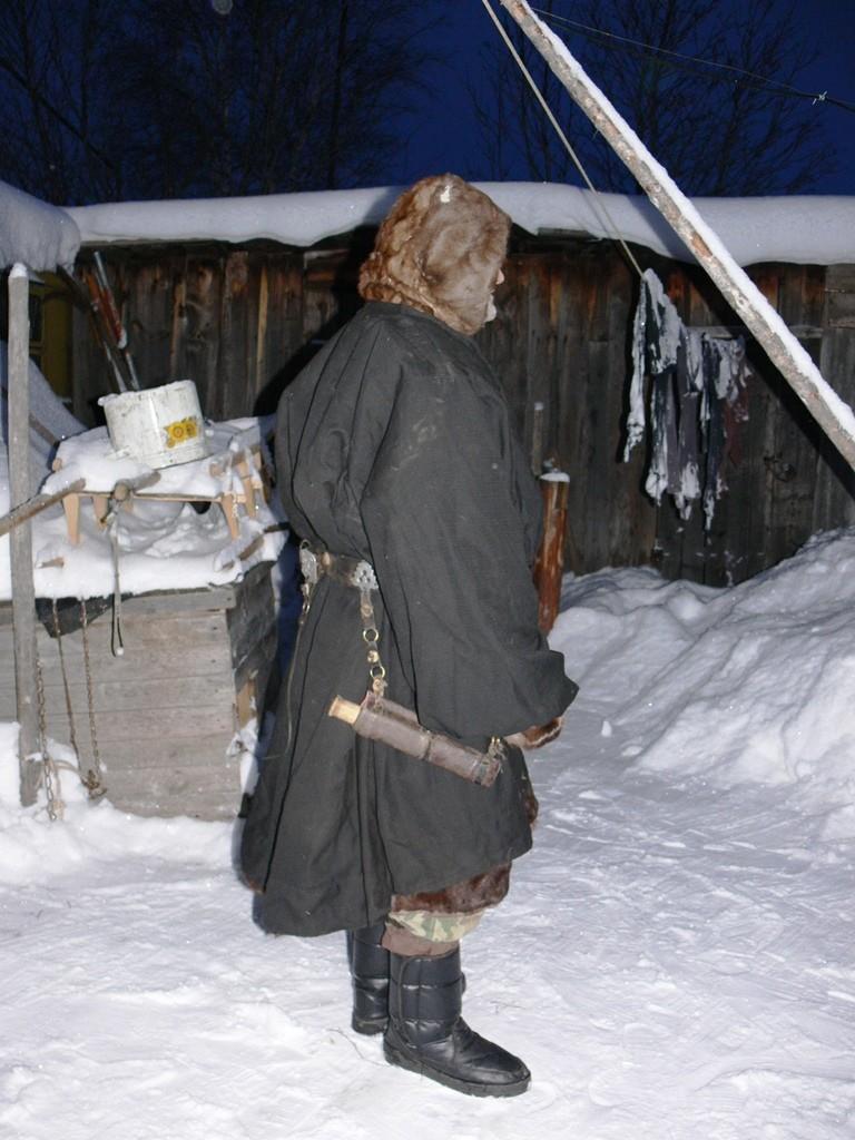 Оленевод, с.Казым Белоярского района ХМАО – Югра, 2007 г.
