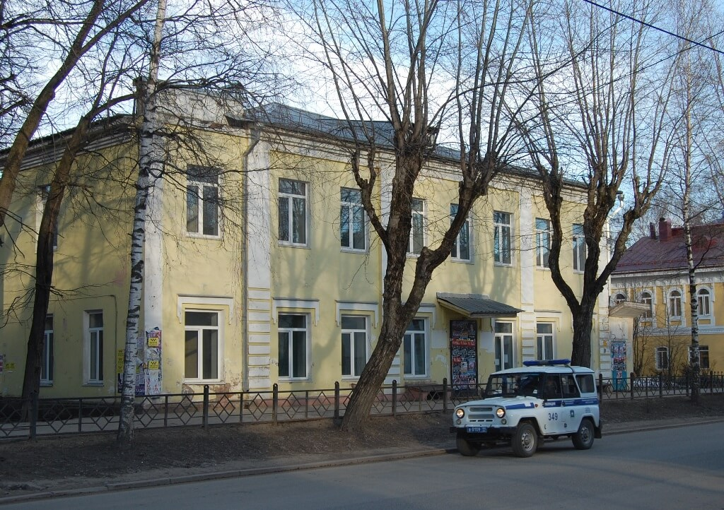 Дом Василия Комлина.