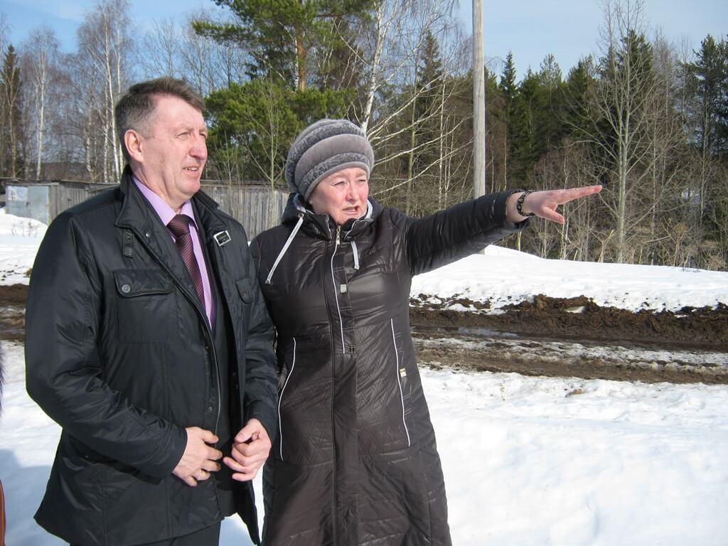 Вячеслав Ивочкин и Нина Кузиванова уже будто видят комплекс воочию.