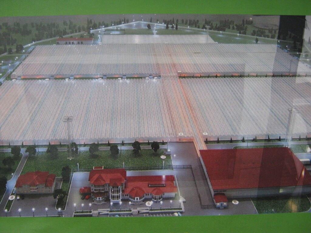 В целом комплекс займет примерно 64 гектара.