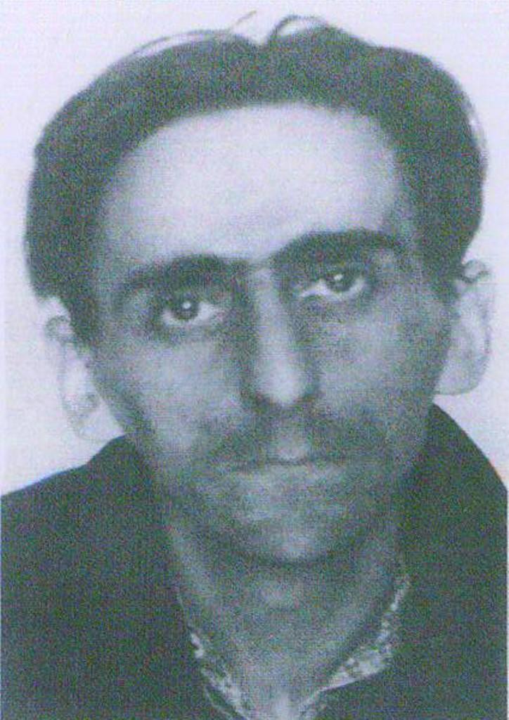 Владимир Гессен во время допросов  в застенках КГБ. 1940 год.