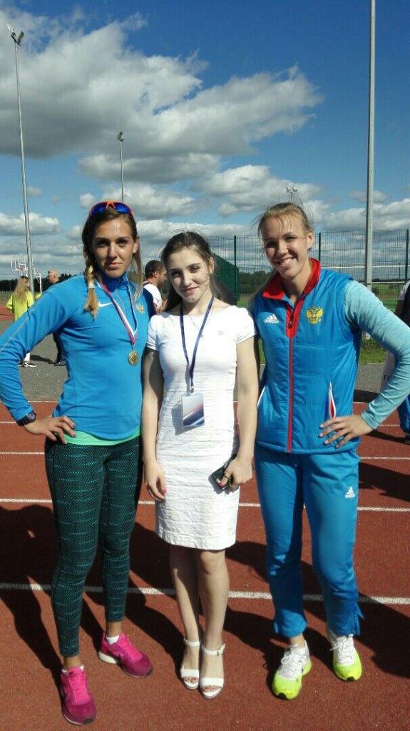 Юлия Шокшуева, Алия Мустафина и Надежда Сергеева.