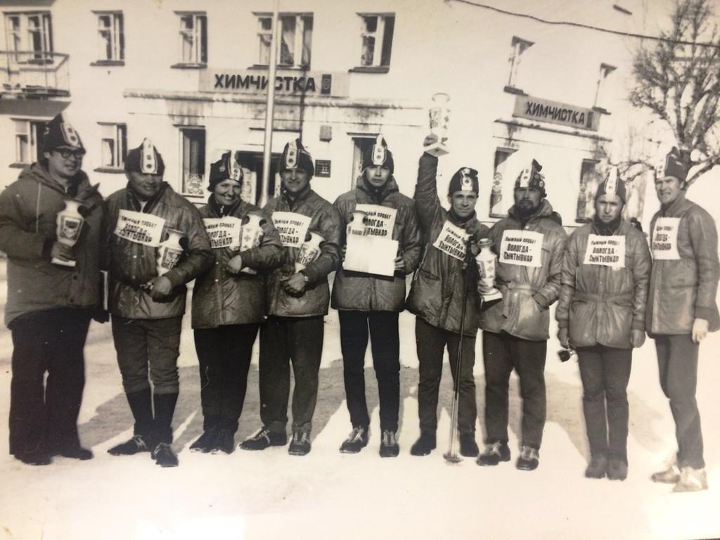 Участники забега Вологда – Сыктывкар.