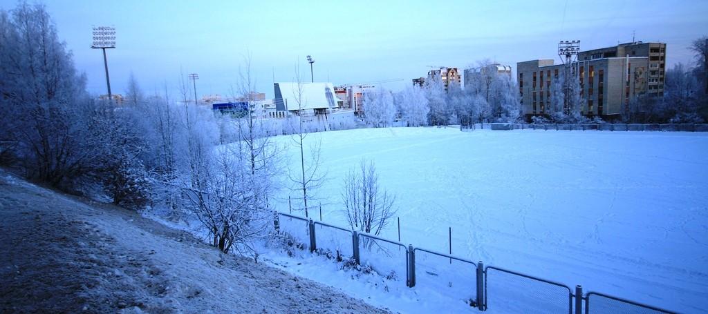 Вероятнее всего, именно на запасном поле стадиона к 2021 году появится крытый ледовый дворец.