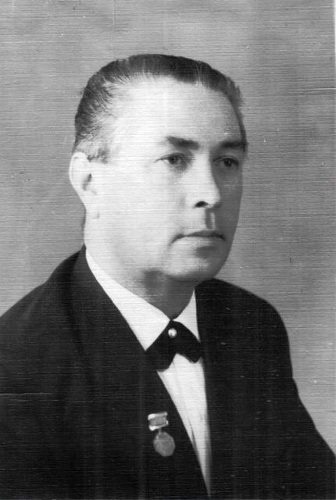 Народный артист СССР  Иван Аврамов.