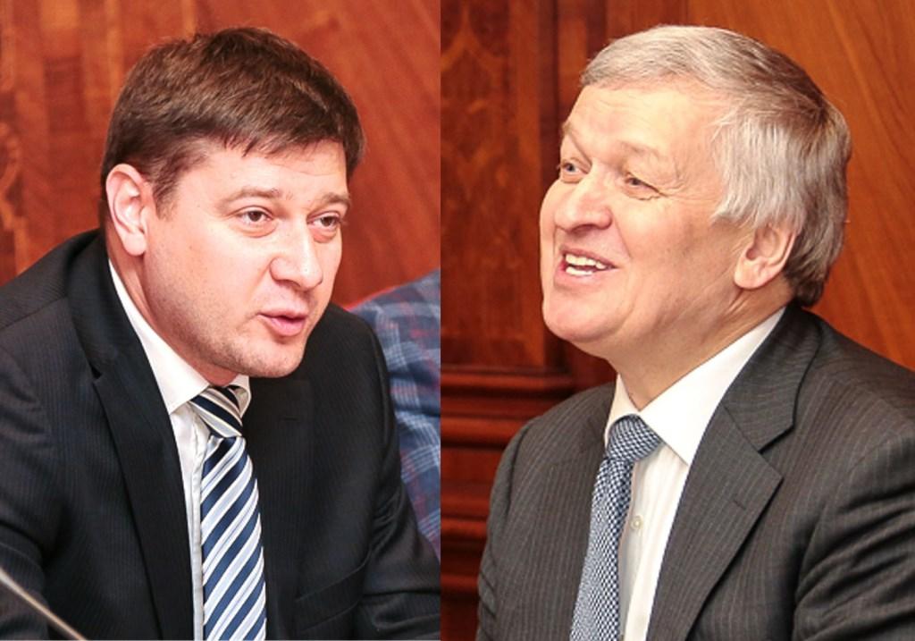 Юрий Сапрыкин, Николай Герасимов.