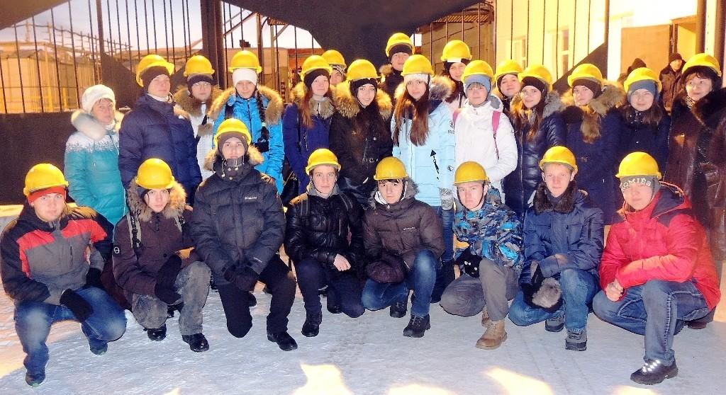 Экскурсия учеников Роснефть-класса на производство