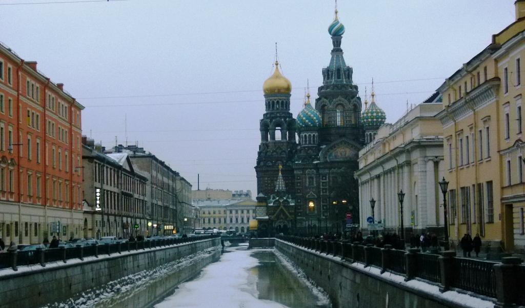 Наши люди в Санкт-Петербурге
